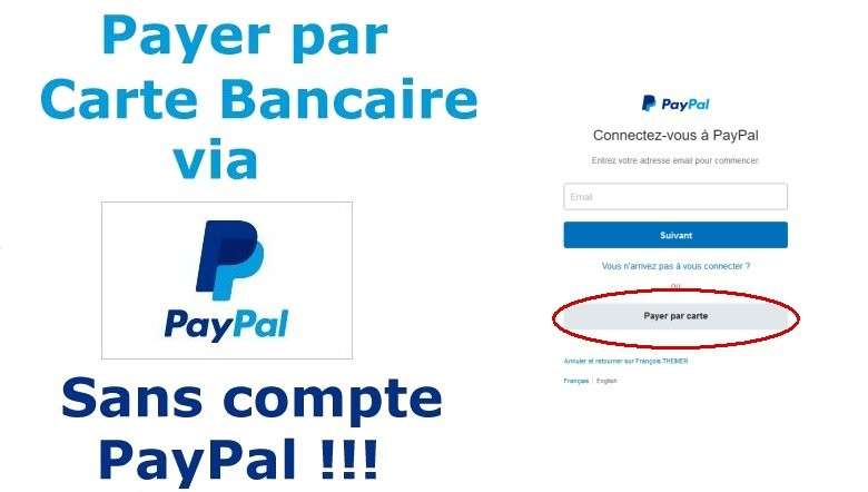 comment payer par carte bancaire avec PayPal... Sans compte paypal !!!