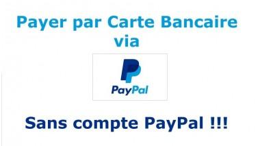 Payer par CB sans compte PayPal !